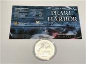 2016 $1 Pearl Harbor 75th Anniversary Perth Mint 1 oz. Silver Coin .9999 W/COA